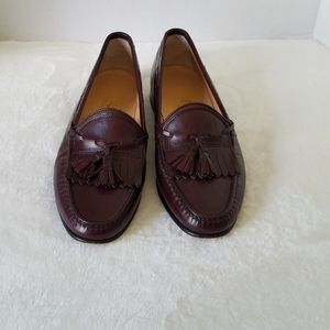 Salvatore Ferragamo Leather Kiltie Tassel Loafers